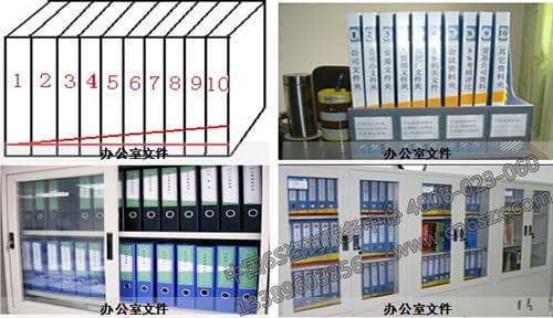 办公文件5S管理摆放标准