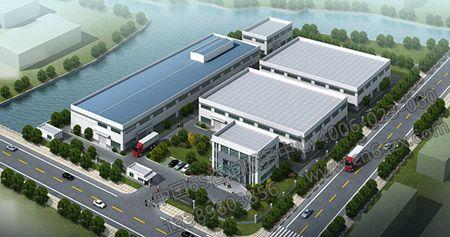 【环境目视化管理设计】工厂3D规划图设计
