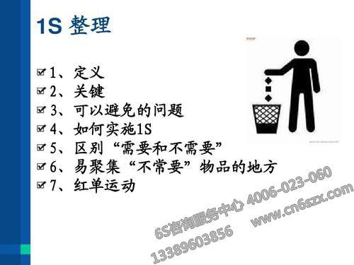 5S管理整理细则